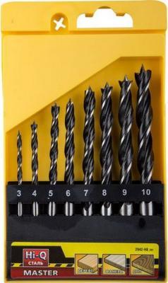 Набор сверл STAYER PROFI 2942-H8_z01 по дереву в боксе 3/4/5/6/7/8/10мм 8шт. набор сверл по дереву stayer master 2942 h8 z01 8 шт