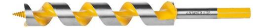 Сверло по дереву STAYER PROFI 29475-235-25 спираль Левиса HEX 25х235мм цена