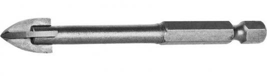 Сверло по плитке STAYER PROFI 2985-06_z01 с 4-мя режущими лезвиями d6мм сверло по плитке stayer master 2986 05 с двумя режущими лезвиями d5мм