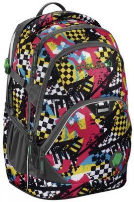 Рюкзак светоотражающие материалы Coocazoo EvverClevver2 Checkered Bolts 30 л рисунок 00129875