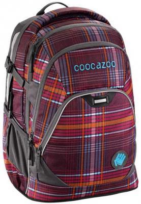 Купить Рюкзак светоотражающие материалы Coocazoo EvverClevver2 Walk The Line 30 л фиолетовый 00129872, полиэстер, Ранцы, рюкзаки и сумки