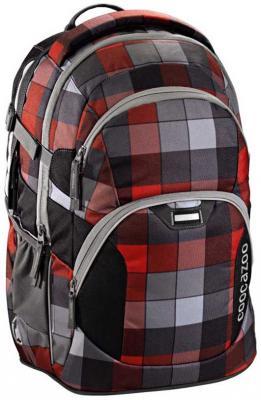 Рюкзак светоотражающие материалы Coocazoo JobJobber2 Red District 30 л серый красный 00129953 coocazoo рюкзак jobjobber2 hip to be square