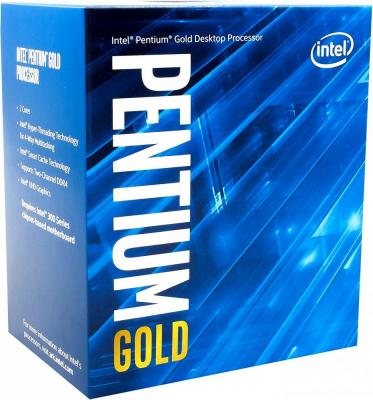 Процессор Intel Pentium Gold G5400 3.7GHz 4Mb Socket 1151 v2 BOX процессор intel cpu pentium 925 930 3 0g