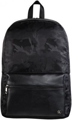 Рюкзак для ноутбука 14 HAMA Mission Camo полиэстер полиуретан черный камуфляж 00101598 рюкзак hama camo select 15 6 черный камуфляж