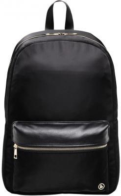 Рюкзак для ноутбука 14 HAMA Mission полиэстер полиуретан черный золотистый 00101588 рюкзак hama sweet owl pink blue