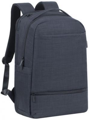 рюкзак 17 3 riva 7860 черный Рюкзак для ноутбука 17.3 Riva 8365 полиэстер черный