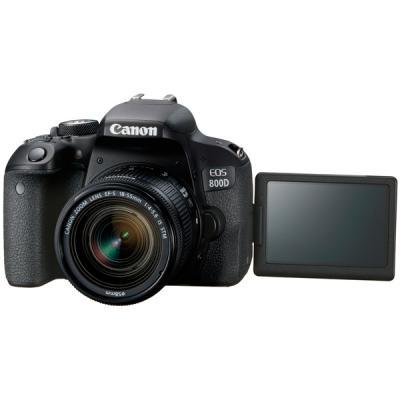 Зеркальная фотокамера Canon EOS 800D EF-S 18-55mm 24Mp черный 1895C002