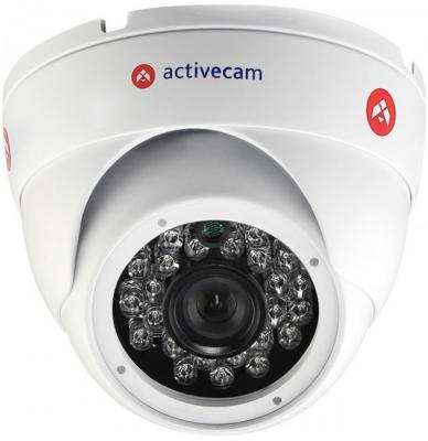 Видеокамера ActiveCam AC-TA481IR2 CMOS 1/2.8 3.6 мм 1920 x 1080 RJ-45 LAN белый видеокамера ip activecam ac d2121wdir3 1 9 мм белый