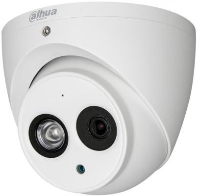 Видеокамера Dahua DH-HAC-HDW1100EMP-A-0360B-S3 CMOS 1/3 3.6 мм 1280 x 720 RJ-45 LAN белый видеокамера dahua dh hac hfw1200rp vf s3 cmos 1 2 7 2 8 мм 1920 x 1080 белый