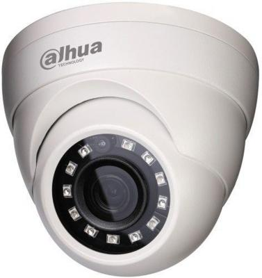 Видеокамера Dahua DH-HAC-HDW1200MP-0280B-S3 CMOS 1/2.7 2.8 мм 1920 x 1080 RJ-45 LAN белый видеокамера dahua dh hac hfw1200rp vf s3 cmos 1 2 7 2 8 мм 1920 x 1080 белый
