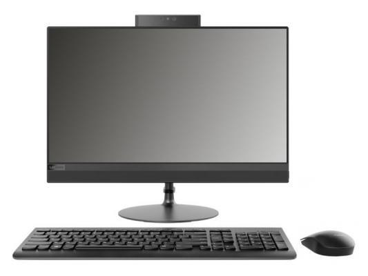 Lenovo IdeaCentre AIO 520-22AST Monitor stand 21.5(1920x1080)/AMD A6 9220(2.5Ghz)/4096Mb/1000Gb/DVDrw/Int:AMD Radeon R4/BT/WiFi/war 1y/5.65kg/black/DOS + Клавиатура, мышь моноблок lenovo ideacentre aio 910 27ish monitor stand 27 1920x1080 intel core i5 7400t 2 4ghz 8192mb 1000 128ssdgb nodvd ext nvidia geforce gt940a 2048mb cam bt wifi war 1y silver w10 клавиатура мышь f0c800abrk