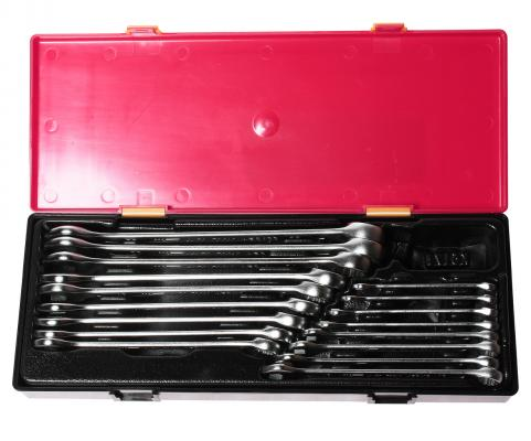 Набор комбинированных ключей JTC K6172 (6 - 23 мм) 17 шт. унты flois