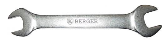 Ключ рожковый BERGER BG1084 (6 / 7 мм) 134 мм ключ рожковый 6х7 fit 63491 6 7 мм