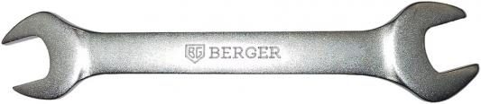 Ключ рожковый BERGER BG1090 (15 / 16 мм) 207 мм ключ рожковый berger bg1115 16 18 мм 190 мм