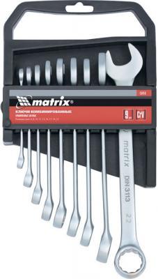 Набор комбинированных ключей MATRIX 15410 (6 - 22 мм) 9 шт. matrix 15410