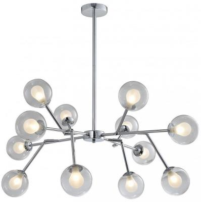 Подвесная светодиодная люстра Favourite Bullae 2136-12P подвесная светодиодная люстра favourite ellisse 1749 12u