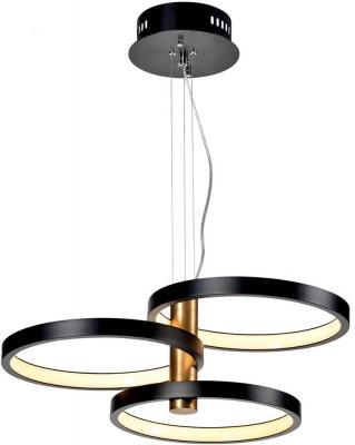 Подвесная светодиодная люстра Favourite Umlauf 2116-3P потолочный светодиодный светильник favourite umlauf 2116 1u