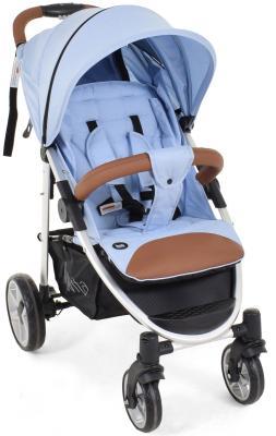 Фото - Прогулочная коляска Nuovita Corso (azzurro-argento) коляска прогулочная everflo safari grey e 230 luxe