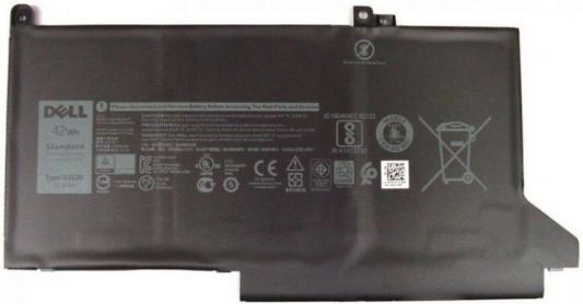 Фото - Аккумуляторная батарея для ноутбуков DELL 3 cell для Dell 7280/7480 451-BBZL/0NF0M/0NF0H аккумуляторная батарея для ноутбуков dell primary 6 cell 65w hr expresscharge capable kit 451 11980