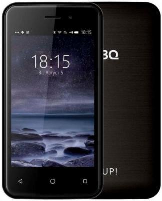 Смартфон BQ BQ-4028 UP! 8 Гб черный смартфон bq mobile bq 4028 up gold