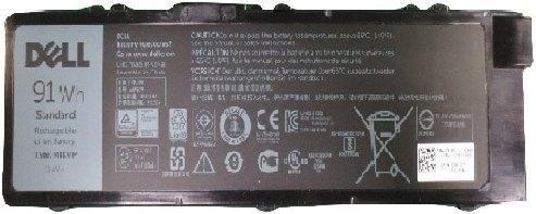 Фото - Аккумуляторная батарея для ноутбуков DELL 6 cell для Dell Precision M7510/М7520/М7710/М7720 аккумуляторная батарея для ноутбуков dell 4 cell для dell latitude e7440 451 bbfs