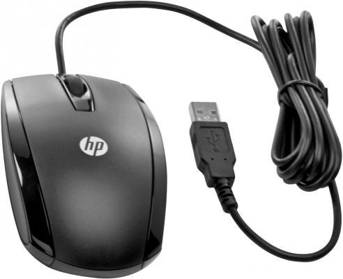 Мышь проводная HP Essential чёрный USB 2TX37AA