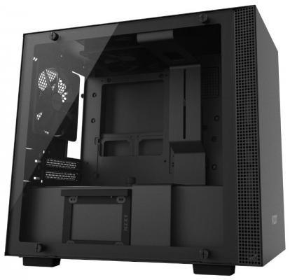 Корпус mini-ITX NZXT H200i Без БП чёрный CA-H200W-BB
