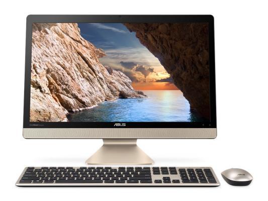 """Моноблок 21.5"""" ASUS V221IDGK-BA015D 1920 x 1080 Intel Celeron-J4205 4Gb 500Gb GeForce GT 920MX 2048 Мб DOS черный золотистый 90PT01Q1-M04300"""