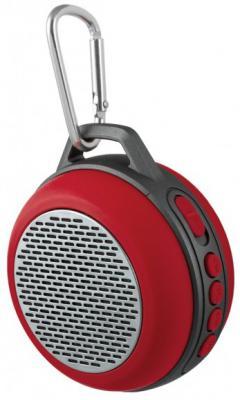 Портативная акустика Perfeo Solo 5Вт Bluetooth красный PF_5206