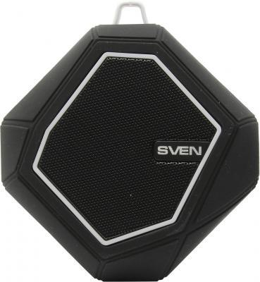 все цены на Портативная акустика Sven PS-77 5Вт Bluetooth черный белый