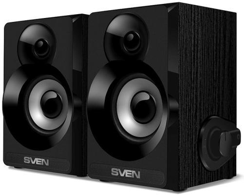 Колонки Sven SPS-517 2х3 Вт черный