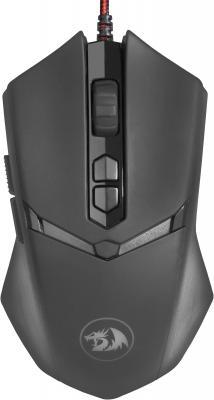 Мышь проводная Defender Nemeanlion 2 чёрный USB 70438 defender defender redragon nemeanlion черный usb черный usb