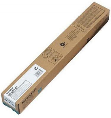 Тонер-картридж Sharp MX51GTCA голубой 18 000 страниц тонер картридж sharp ar621t 83 000 страниц