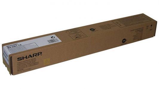 Тонер-картридж Sharp MX51GTYA желтый 18 000 страниц тонер картридж sharp sharp mx23gtba для mx 1810 2010 2310 3111 черный