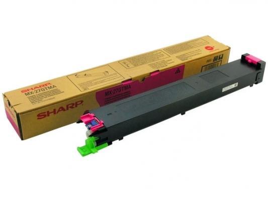 Тонер-картридж Sharp MX27GTMA пурпурный 15 000 страниц
