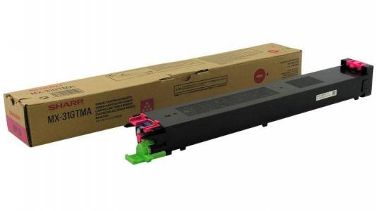 Тонер-картридж Sharp MX31GTMA пурпурный 15 000 страниц