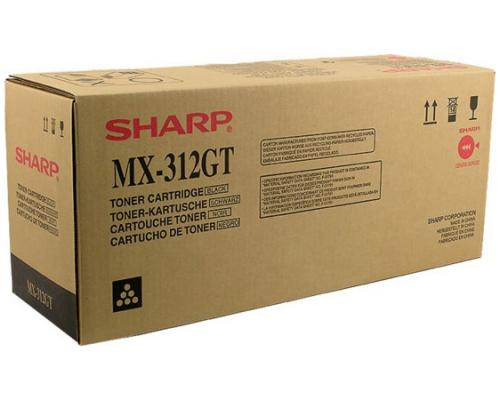 Тонер-картридж Sharp MX312GT 25 000 страниц тонер картридж sharp ar310t 25 000 страниц