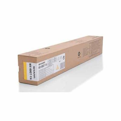 Тонер-картридж Sharp MX60GTYA желтый 24 000 страниц тонер картридж sharp sharp mx23gtba для mx 1810 2010 2310 3111 черный