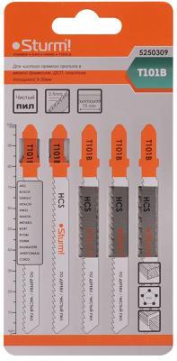 Лобзиковая пилка Sturm T101B 5шт 5250309 стамеска sturm 14мм 10630114