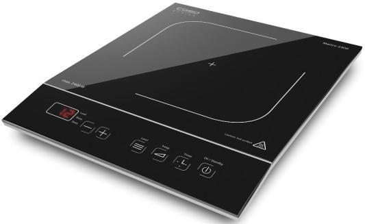 Индукционная электроплитка CASO Maitre 2400 чёрный индукционная электроплитка tesler pi 22 чёрный
