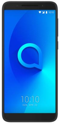 Смартфон Alcatel 3 5052D 16 Гб черный (5052D-2AALRU7) смартфон alcatel смартфон alcatel 3 5052d spectrum black