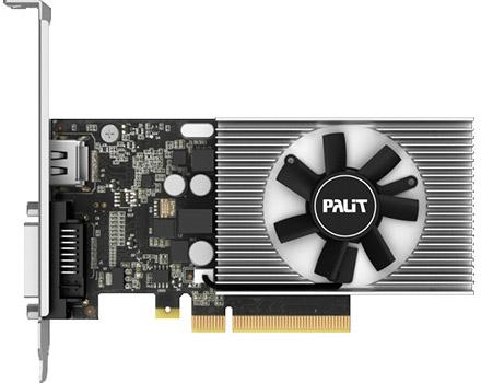 Видеокарта Palit GeForce GT 1030 NEC103000646-1082F PCI-E 2048Mb 64 Bit Retail (NEC103000646-1082F) pci e to