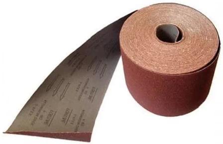 Лист шлифовальный ABRAFORCE 500855331  коричневая 100мм*3м P60