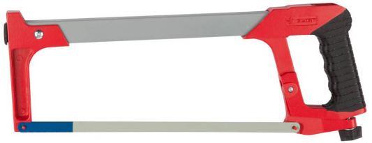 Ножовка Зубр Мастер по металлу усиленная рамка металлическая обрезиненная ручка 300мм 15774_z01 ножовка fit 40042 ручка по металлу 300мм тип с усиленная