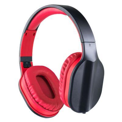 Гарнитура Perfeo PF_A4004 черный красный радиоприемник perfeo егерь fm красный i120 red