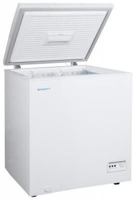 Морозильный ларь Kraft XF-150A белый морозильный ларь kraft bd w 350qx белый