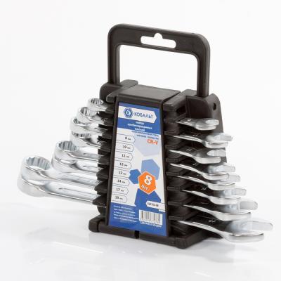 Набор комбинированных ключей КОБАЛЬТ 020103-08 (6 - 19 мм) 8 шт. машина шлифовальная многофункциональная skil 7207la