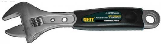Ключ разводной FIT 70163 (0 - 30 мм) 250мм ключ разводной fit хард 6 150 мм