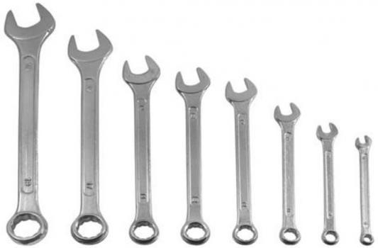 Набор комбинированных ключей KROFT 210108 (6 - 19 мм) 8 шт. набор ключей kroft 210206 6 17 мм