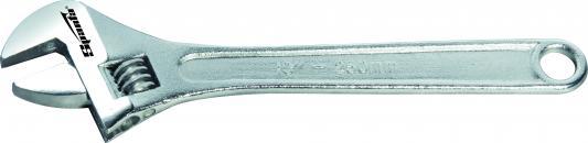Ключ разводной SPARTA 155455 (0 - 50 мм) 450 мм ключ гаечный разводной santool 031630 300 0 35 мм